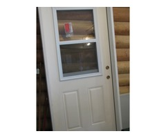 NEW! Exterior Door with Window/Screen